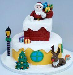 BakerByte - Christmas Cake