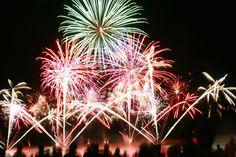 Le #feu d'artifice de #chatel en fête ! Splendide #chatelaillon #chatelaillonplage #fête