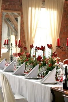 Decoration table wedding.
