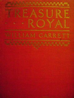 Treasure Royal Offered by #OurVintageBooks on Bonanza