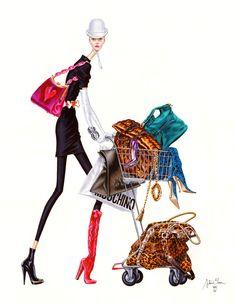 Arturo Elena Illustrations – Beautiful Traditional and Intricate Fashion Drawings Illustration Mode, Illustration Artists, Love Fashion, Fashion Models, Fashion Design, Moda Chic, Wow Art, Zuhair Murad, Fashion Sketches