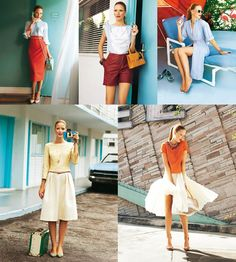 OMG so many great patterns on Burda Style this week! I really want to try the pencil skirt and drawstring blouse.