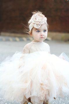 25 Best Flower Girl Robes images  296e68461
