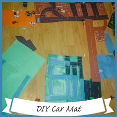 How to make a simple car mat perfect for a transportation unit or a rainy day fun idea. Just need paper and chalk or pen. Head over to find out how to make it. Outdoor Activities For Toddlers, Water Games For Kids, Toddler Learning Activities, Rainy Day Activities, Summer Activities For Kids, Indoor Activities, Backyard For Kids, Backyard Games, Outdoor Games