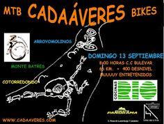 """Mtb Cadaáveres - Bike : Ruta Mtb """"Monte Batres""""."""
