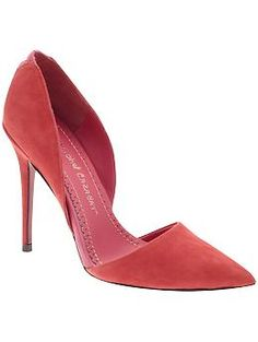 Jean-Michel Cazabat Ella : I love the cut of this pump.  It would extra chic in neon.