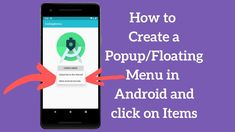 How to Create Android Popup Menu Programmatically and Handle Menu Items ... Popup Menu, Android Tutorials, Menu Items, Pop Up, Improve Yourself, Handle, Learning, Create, Popup