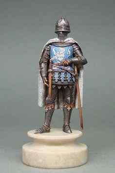 "Russian Vityaz ELITE (Museum) Soldier: Chess Set ""War of Roses"""