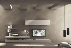 Composizione soggiorno serie I-modulART 277   lartdevivre - arredamento online
