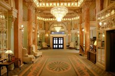 Wolcott Hotel Lobby, Fifth and 31st