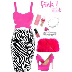 PINK NEON Style
