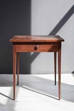 Solid Cherry Table Maxine Snider Inc.