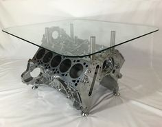 Marvelous V10 Engine Coffee Table   Silverstone Auctions