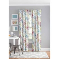 Your Zone Floral polyester curtain panel. Get unbeatable discount up to 60% Off at Walmart using Coupon and Promo Codes.