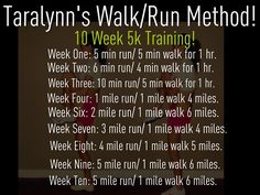 5k training...and blow more than 300-500 calories in an hour...yes, please!