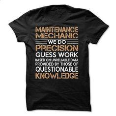 Maintenance Mechanic - #hoodie diy #athletic sweatshirt. ORDER HERE => https://www.sunfrog.com/LifeStyle/Maintenance-Mechanic-61147044-Guys.html?68278