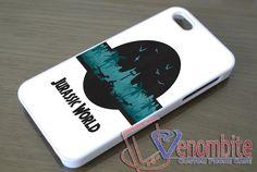 Jurassic World Poster Phone Case iPhone, iPad, Samsung Galaxy & HTC One Cases