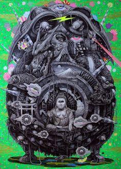 Yasuto Sasada's Drawings of Machine-Inspired Creatures | Hi-Fructose Magazine