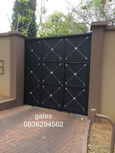 Sliding Solid Remote control gates,offer complete Privacy in your Garden, and are secure to unwanted guests, Westgate manufacturing in Gauteng, South Africa have been securing properties since 1984, Call us on 0836294562 or 0117662656 Ask for Raymond