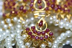 Exquisite Pearls and Rubies..
