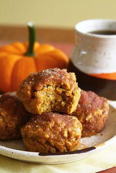 Pumpkin Spice Doughnut Muffins