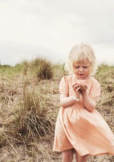 simply perfect peach dress.  No bells or whistles needed. #estella #kids #fashion