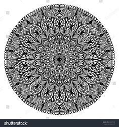 Mandala Artwork, Adult Coloring, Ornaments, Decor, Mandalas, Illustrations, Artists, Adult Colouring In, Decoration