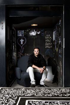 Francois Mangeol designer by Chiara Cadeddu