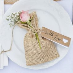 Add a rustic handmade touch to your wedding tableware with these adorable 'With Love' luggage tags. Perfect for name cards or wrapping around wedding favours. Wedding Party Invites, Wedding Invitation Wording, Wedding Favours, Party Invitations, Luggage Tags Wedding, Wedding Tags, Handmade Wedding, Rustic Wedding, Rustic Place Cards