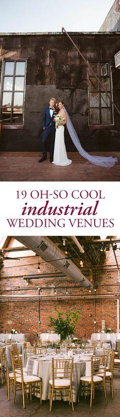 Our Favorite Industrial Wedding Venues Across the Globe   Lauren Fair Photography