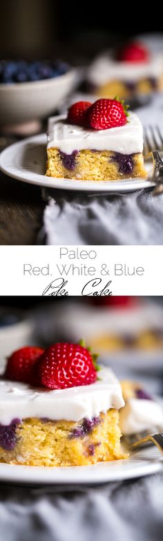 Paleo Poke cake with