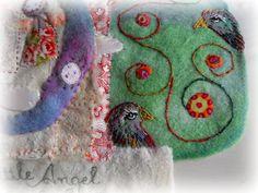 THE FABRIC OF MEDITATION - SARA LECHNER'S BLOG: Birds - Vögel - Oiseaux - Pájaros