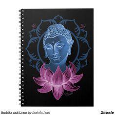 Buddha and Lotus Note Books