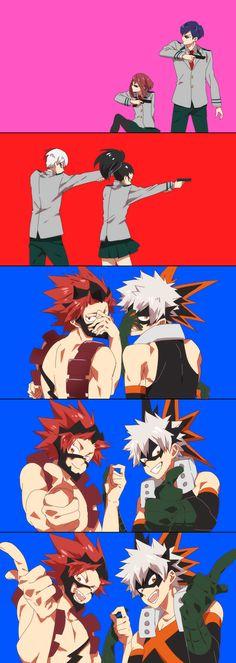 Boku no Hero Academia x Free! || #Anime (Cross-Over) Part2