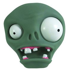 1 X PLANTS VS. ZOMBIES - Zombie Slime @ niftywarehouse.com #NiftyWarehouse #Zombie #Horror #Zombies #Halloween Plantas Versus Zombies, Plants Vs Zombies, Fondant Toppers, Halloween, Slime, Polymer Clay, Horror, Toys, Fictional Characters