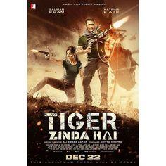 Bhai aa rahe hai Christmas pe... Here's the official poster of #TigerZindaHai ft. Salman Khan and Katrina Kaif. Directed by Ali Abbas Zafar. Releasing on 22 Dec 2017. .  Follow  @filmywave  . #SalmanKhan #KatrinaKaif #AliAbbasZafar #YRF #poster #movieposter #firstlook #movie #film #celebrity #bollywood #bollywoodmovie #actor #actress #star #glamour #glamorous #hot #sexy #love #beauty #instalike #instacomment #instafollow #filmywave