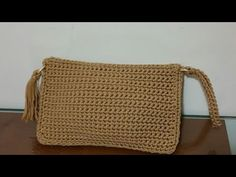 Bustina Portatutto uncinetto /pochette crochet - YouTube Bag Crochet, Crochet Purses, Crochet Bag Tutorials, Bag Sale, Straw Bag, Purses And Bags, Projects To Try, Reusable Tote Bags, Make It Yourself