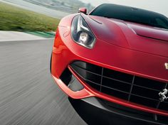 """Ferrari F12. Top Gear says its the only car that can """"hold a candle to"""" the Lexus LFA. Which is my favorite car. :)"""