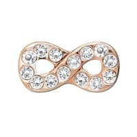 Crystal rose gold infinity OR the All Silver $5