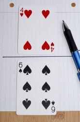 Jeu avec cartes