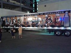 University of Texas Longhorns - equipment transporter for away football games