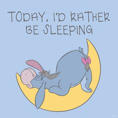Eeyore - I'd Rather Be Sleeping