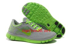 4uknX4 Wolf Grey Electric Green Nike Free Run 3 Men s Running Shoes Running  Shoes For Men 1f1d322e2