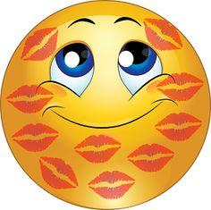 Kisssssssssssses for my Mr♡ Smiley Emoji, Big Emoji, Smiley Faces, Funny Emoticons, Funny Emoji, Animated Emojis, Naughty Emoji, Emoji Movie, Emoji Symbols