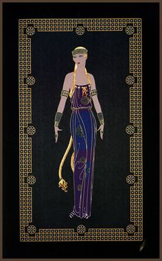 Erte Art Gallery Scandinavian Princess embossed serigraph with foil Art Deco Artwork, Art Deco Posters, Inspiration Art, Art Inspo, Erte Art, Illustration Art Nouveau, Art Deco Artists, Estilo Art Deco, Art Deco Period