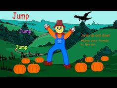 Dance like a Scarecrow a fun interactive dancing classroom brainbreak for October. Enjoy the Fall!