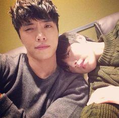 THE GREY ZONE : [141023] Eddy Kim & Yu Seung Woo Eddy Kim, Peeps, Bae, Kpop, Club, Friends, Heart, Amigos, Boyfriends