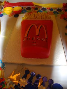 McDonald's French Fries cake