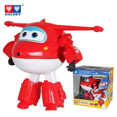Big!!!15cm ABS Super Wings Deformation Airplane Robot Action Figures Super Wing Transformation toys for children gift Brinquedos. Click visit to buy
