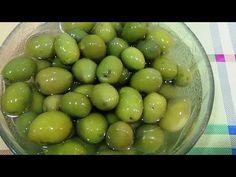 Cura y aliño casero de aceitunas olivas. Aceitunas sabrosas hechas en casa receta abuela. - YouTube Olive Recipes, Smoking Meat, Chorizo, Diy Food, Preserves, Tapas, Food To Make, Antipasto, Sausage